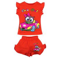 """20-00110 """"Cute Owl"""", костюм для девочки, 1-4 года, оранжевый"""