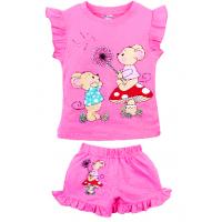 "20-00122 ""Little Mouse"", костюм для девочки, 1-4 года, розовый"