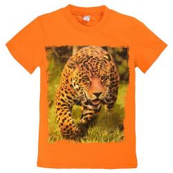 """20-103102 """"Гепард"""" Футболка, 8-12 лет, оранжевый"""