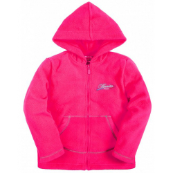 20-02601 Толстовка флисовая для девочки, 5-8 лет, розовый