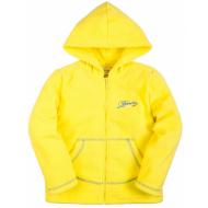 20-02603 Толстовка флисовая, 5-8 лет, желтый
