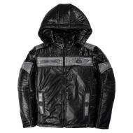 20-03001 Демисезонная куртка для мальчика, 9-12 лет, черный