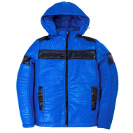 20-03003 Демисезонная куртка для мальчика, 8-12 лет, голубой
