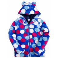 """20-04901k Куртка с """"Ушками""""для девочки, велсофт, 2-5 лет"""