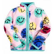 20-05002k Куртка для девочки, велсофт, 2-5 лет