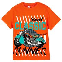 """20-102110 """"Classic"""" Футболка для мальчика, 4-8 лет, оранжевый"""