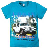 "20-103110 ""Rally 4X"" Футболка, 8-12 лет, бирюзовый"