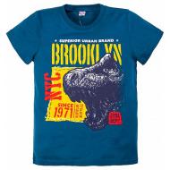 "20-003-13 ""Brooklyn"" Футболка, 8-12 лет, синий"
