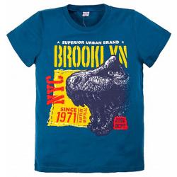 "20-103111 ""Brooklyn"" Футболка, 8-12 лет, синий"