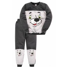 20-105906 Костюм для мальчика, 1-4 года, т-серый