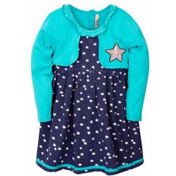 20-112506 Платье для девочки, 2-6 лет, ментол