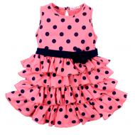 020-116703 Платье для девочки, 2-5 лет, розовый