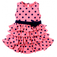 20-116703 Платье для девочки, 2-5 лет, розовый