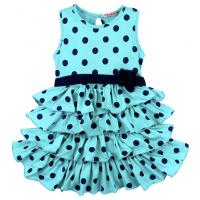 20-116705 Платье для девочки, 2-5 лет, минт