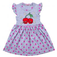 20-116805 Платье для девочки, 3-7 лет, серый