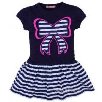 20-117004 Платье для девочки, 3-7 лет, синий