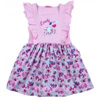 20-117802 Платье для девочки, 3-7 лет, св-розовый