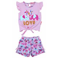 20-118501 Комплект для девочки, 2-5 лет, розовый