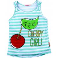 "20-118804 ""Cherry"" Топ для девочки, 3-7 лет"