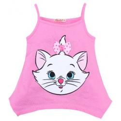 20-11901 Топ для девочки, 3-7 лет, розовый