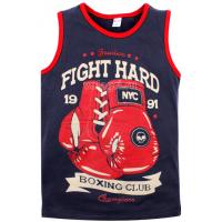 """20-12048 """"Boxing"""" Майка для мальчика, 8-12 лет"""