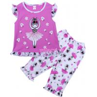 20-12163 Пижама для девочки, 3-7 лет, лиловый
