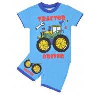 """20-20103-3 """"Tractor"""", костюм для мальчика, 1-4 года, голубой"""
