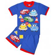 "20-20106 ""Cars"", костюм для мальчика, 1-4 года, синий"