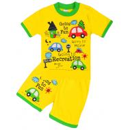 20-011018-09 Костюм для мальчика, 1-4 года, желтый