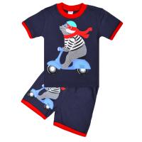 "20-20108 ""Motorbike"", костюм для мальчика, 1-4 года, т-синий"