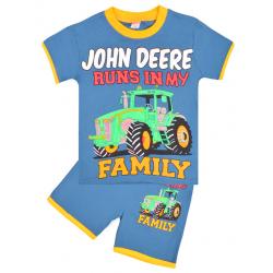"20-202103 ""John Deere"" Костюм для мальчика, 4-8 лет, синий"
