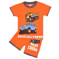"20-202107 ""Have There"" Костюм для мальчика, 4-8 лет, оранжевый"