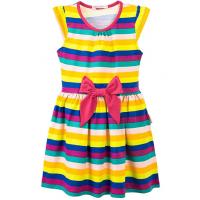20-25001 Платье для девочки, 7-11 лет, малиновый