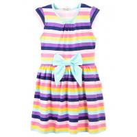 20-25002 Платье для девочки, 7-11 лет, ментоловый