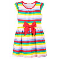 20-25003 Платье для девочки, 7-11 лет, красный