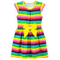 20-25004 Платье для девочки, 7-11 лет, желтый