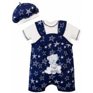 20-27702 Комплект для новорожденных, 62-80, т-синий
