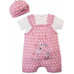 20-27704 Комплект для новорожденных, 62-80, розовый