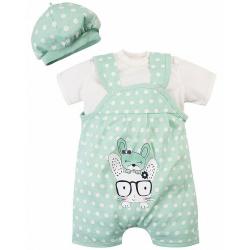 20-27705 Комплект для новорожденных, 62-80, зеленый
