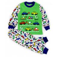 """20-30033 """"Beep!"""" Пижама для мальчика, 2-5 лет, салатовый"""