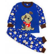 "20-30035 ""Гаф!"" Пижама для мальчика, 2-5 лет, синий"