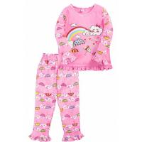 """20-30052 """"Радуга"""" Пижама для девочки, 2-5 лет, розовый"""