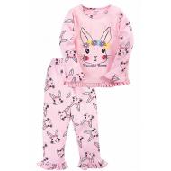"""20-30053 """"Bunny"""" Пижама для девочки, 2-5 лет, св-розовый"""