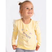 20-33105 Джемпер для девочки, 1-4 года, желтый