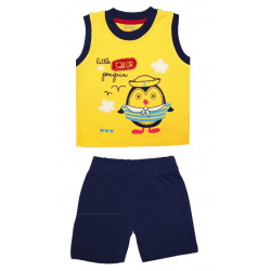 20-33402 Комплект для мальчика, 68-88, желтый\синий
