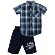 "020-34202 ""Speedcar"" Костюм для мальчика, 2-5 лет, т-синий"