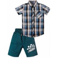 """020-34203 """"Speedcar"""" Костюм для мальчика, 2-5 лет, голубой"""