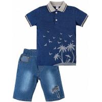 "20-34301 ""Sammer"" Костюм для мальчика, 2-5 лет, т-синий"