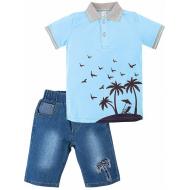 """20-34302 """"Sammer"""" Костюм для мальчика, 2-5 лет, голубой"""