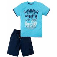 020-34401 Костюм для мальчика, 2-5 лет, голубой